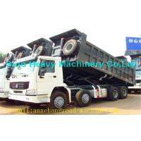 Buy cheap 70T 8 X 4 Heavy Duty Dump Truck Thickness 8mm 6mm Option Tire Model from Wholesalers