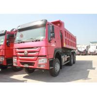 Wholesale 371HP Engine Three Axle Dump Truck 10 Wheels LHD / RHD Steering 12.00R20 Tire from china suppliers