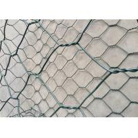 Wholesale Plain Weave Gabion Wire Mesh / Heavily Zinc Gabion Mattress For River Bank Protection from china suppliers