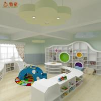 China China supplies children kindergarten school wooden MDF library furniture for reading room on sale