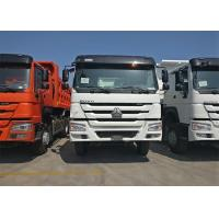 Wholesale 336HP Heavy Dump Truck ZF Driving Steering 6x4 Driving Type Euro 2 Emission from china suppliers