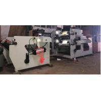 China Two Color Flexographic Printing Machine , Printing Flexo Machine With Die Cutting Slitting on sale