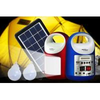 Wholesale 3W Newest portable solar lighting system Small Solar Generator Field Emergency Charging Led Lighting lamp from china suppliers