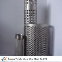 Wholesale Wire Mesh Filter Tube|Flat Kintting Weave with Round Hole Shape from china suppliers