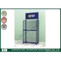 China Customized wire grid display racks for retail stores greeting card display rack on sale