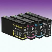 Wholesale Compatible Ink Cartridges with Chip, Suitable for Epson Workforce Pro Series Machines from china suppliers