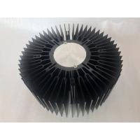 Buy cheap Custom aluminum CNC machined 230mm big size LED round heat sink extrusions from wholesalers