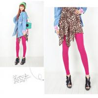 Wholesale Winter Pure Cotton Tights Pantyhose , Custom Sexy Pink Tights For Women from china suppliers