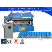 PLC Control Roll Forming Line, Automatic C Z Purlin Roll Forming Machine