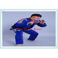 Wholesale 100% Cotton Blue jiu jitsu clothing Custom Martial Arts Uniforms for Adults from china suppliers