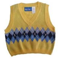 Wholesale Boy′s Knitted Vest, Cotton Sweater (SFY-A067) from china suppliers