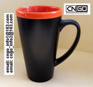 Wholesale fashion big Chalk Mug free your hand wholesale16oz Ceramic Chalk Mugs cups from china suppliers