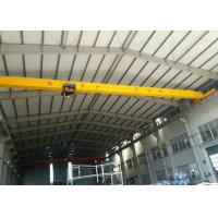 Wholesale European Style Electric Bridge Crane , Double Girder Crane 0~8m/Min Lifting Speed from china suppliers