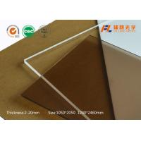 Wholesale Anti Fog Polycarbonate Sheet , Heat Resistant Plastic Sheet Prevent Light Pollution from china suppliers