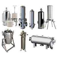 Wholesale Lenticular Sus Multi Bag Cartridge Filter Housing from china suppliers