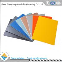 Buy cheap 3003 0.9mm 1.0mm Color Coated Aluminium Plate For Decoration Weatherproof 50 kg / Cm from Wholesalers