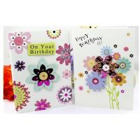 Wholesale Custom Paper Birthday Gift Card Music Card With Happy Birthday Song from china suppliers