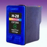 Wholesale Color Ink Cartridge C8728AA, Suitable for Desk-jet Printer with 18mL Ink Volume from china suppliers