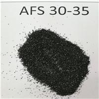 Wholesale chromite sand AFS25-35 AFS30-35 Ladle pouring material chromite sand from china suppliers