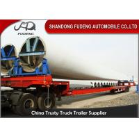 Wholesale Steel Extendable Lowboy Trailer For 18 / 46 / 56 Meters Windmill Turbine Blade from china suppliers