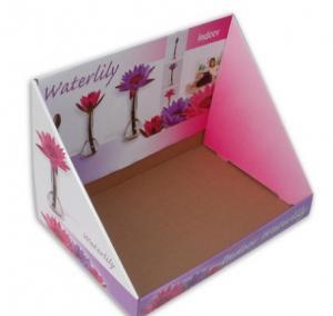 Corrugated Paper Display Box ,  Custom Printing Display Boxes Packaging