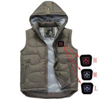 China heated jacket with rechargeable battery heated vest on sale