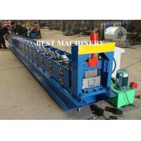 Wholesale 6 Inch Roofing Rain Gutter Roll Forming Machine PLC Control Cutting from china suppliers
