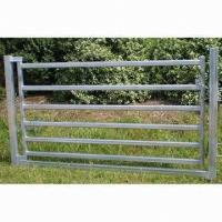 Wholesale 80 x 40mm Oval Rail Horse Panel Gate from china suppliers