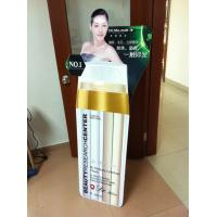 China Fashionable UV coating paper Point of purchase Cosmetic Display Stands rack on sale
