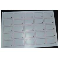 China Customized Thickness 13.56MHZ RFID Smart Card Inlay L85.4mm * W54mm 8kbit Capacity on sale