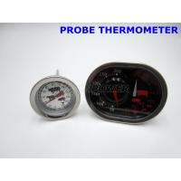 China Built In Oven Safe Meat Thermometer , Dial Style High Temp Oven Thermometer on sale