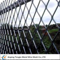 Wholesale Expanded Metal Fencing Panels|0.5mm Steel Wire Fencing for Sports Fields China Factory from china suppliers
