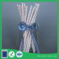 Wholesale Straight Paper water drinking straw for Wedding Birthday Party disposable paper drink straws from china suppliers