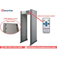 China Government Buildings Check Archway Metal Detector IP65 With Remote Controller on sale