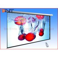 Wholesale Pull Down Video Projection Projector Screen , 16 9 Projection Screen Sizes 92 Inch from china suppliers