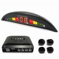 China Crescent LED Display Parking Sensor with Auto Reversing Detector and Three-color LED Indicator on sale