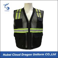 Buy cheap Sleeveless Reflective Tape Security Guard Vest 100% Polyester OEM & ODM from Wholesalers