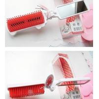 Portable Hello Kitty Foldable  Travel Comb With Mirror