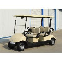 Energy Saving 4 Seater Golf Carts Golf Electric Buggy With Battery Power