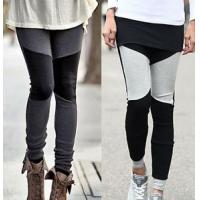 Wholesale Breathable Women Cotton Tights , Two Color Footless Tights For Women from china suppliers
