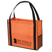 Wholesale Personalize Non Woven Sack Bags Eco Friendly Shopping Totes Full Color Printing from china suppliers