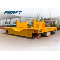 Wholesale Steel Ladle Transfer Car Anti High Temperature With 2 - 150 Ton Capacity from china suppliers
