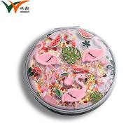 China Double Sided Compact Makeup Mirror For Office Table / Bathroom Using on sale