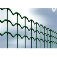 China security industry area zinc steel fence home yard /euro garden metal  fance  green on sale
