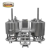 Wholesale Bar / Pub Brewery Equipment , Hotel Steam Heated 30 BBL Brewhouse from china suppliers
