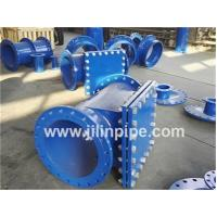 China Ductile iron pipe fittings, double flanged hatch-boxes. on sale