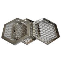 Wholesale Stainless Steel Expanded Metal Mesh  Variety Opening Sizes  Silver Roll Type from china suppliers
