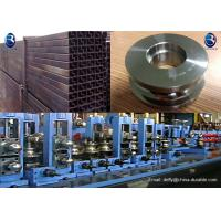 Buy cheap Tube Mill Roll Construction Steel Pipe Manufacture , Pipe Material MS Steel from Wholesalers