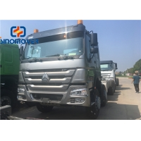 Wholesale HW76 Cabin 50# 90# 371 6x4 Howo Trailer Truck from china suppliers