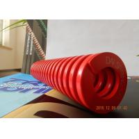 Buy cheap red Good elasticity  Right-handed  Good  mold spring for hardware ,  Plastic from Wholesalers